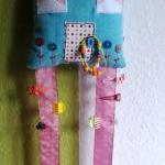 Hairclip Holder* House-Snow in the ..